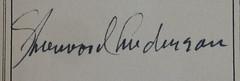 Inscription from Penn Libraries AC9An249916w (Provenance Online Project) Tags: inscription englandlondon 1916 pennlibraries americancultureclass unitedstatesnewyorkstatenewyork ac9an249916w andersonsherwood