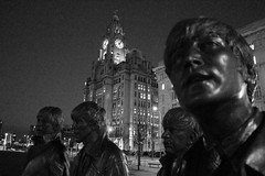 return of the Fab Four (Towner Images) Tags: liverpool merseyside city seaport port towner townerimages bw mono monochrome greyscale monochromatic