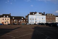 Northern England 2012 #080 Kings Lynn 300512 Market Square (Steveox55) Tags: square hotel pub norfolk kingslynn