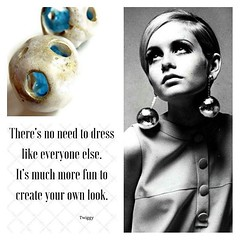 twiggy #quotes #fashion #dress #unique #beyourself... (Tuttosicrea) Tags: fashion dress unique jewellery quotes earrings etsy meteor twiggy beyourself handmadejewelry beyondfashion uploaded:by=flickstagram tuttosicrea instagram:photo=1087161665795222145199187393
