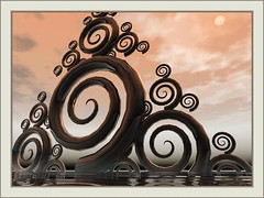 Sky in Contrast (bloorose-thanks 4 all the faves!!) Tags: digital 3d render fractal bryce artabstract incendia