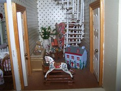 102_7535 (Large) (sheila32711) Tags: stairs attic dollshouse landing miniature scale twelfthscale