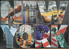 New York Collage (sci-fi-fan) Tags: newyork puzzle educa stdte