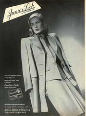 Glamour-Feb 1946 (File Photo Digital Archive) Tags: fashion vintage advertising glamour 1940s 46 40s 1946