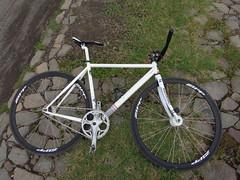 White (Gearmati Jember) Tags: bianchi gmt brakeless jember bikepacker
