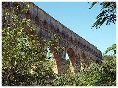 Pont du Gard (abac077) Tags: france monument 30 architecture roman unesco pont pontdugard romain gard aqueduc languedocroussillon 2015 aqueducromain aqueducdenimes