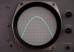 Analogue Sine Wave (rexp2) Tags: flickr instrument audio oscilloscope nikkormicro105mmf28 sonya7s sony0mmf00