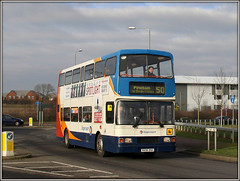 16696, Nectar Way (Jason 87030) Tags: bus volvo northampton transport northamptonshire 50 northants ee stagecoach doubledecker swanvalley olympian 2016 16696 pineham r696dnh nectarway