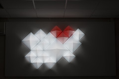 ?D (wroniewicz_edu) Tags: video pyramid relief projection mapping wit wsisiz