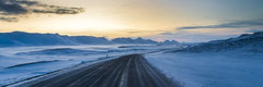 Vidalur (piparinn) Tags: road winter mountains iceland sland vetur fjll greatphotographers heidar vegur vidalur goldcollection canon70d vidalsfjll piparinn vegskar