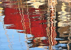 QZ 240 (cadayf) Tags: reflection port 22 seaside harbour bretagne reflet britanny paimpol