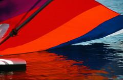 Sail (Tomcat mtl) Tags: water nikon surf sail kodachrome fe redhot boarding refelection