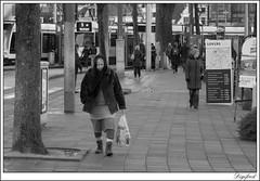 Shopping? (Digifred. Thx for > 3 000 000 views.) Tags: street city blackandwhite holland netherlands amsterdam shopping blackwhite iamsterdam nederland streetphotography canals grachten straat 2015 digifred