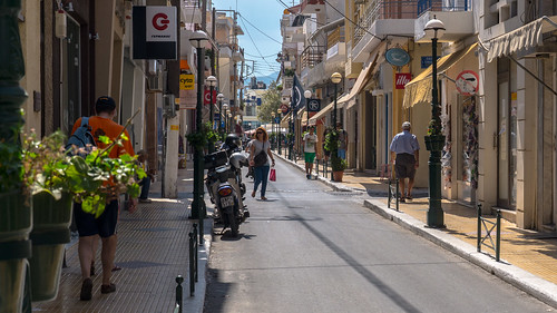 Shopping Street in Sitia - Crete