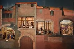 scene provence 55 (Les Crches du Monde) Tags: olives provence santons lavandiere