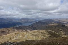 view from Ben Lomond (Sean Munson) Tags: mountain lake mountains landscape scotland highlands hiking loch benlomond lochlomond scottishhighlands beinnlaomainn lochlomondandthetrossachsnationalpark beaconmountain benlomondnationalmemorialpark