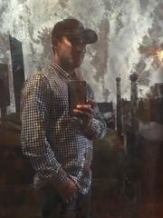 Selfie en espejo de roca de 500 años.