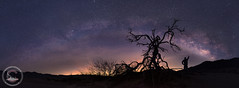 The Bow And The Archer (www.35mmNegative.com(On a Break, Catchin) Tags: california park sky panorama night sunrise stars landscape photography death bay nikon nps pano parks galaxy national astrophotography valley area services sfbay milkyway selfie hazarika astrometrydotnet:status=failed d800e www35mmnegativecom reetom astrometrydotnet:id=nova1474113 thebowandthearcher