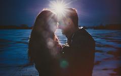 Lisa & Justin // Winter Engagement Session // Sarnia, Ontario