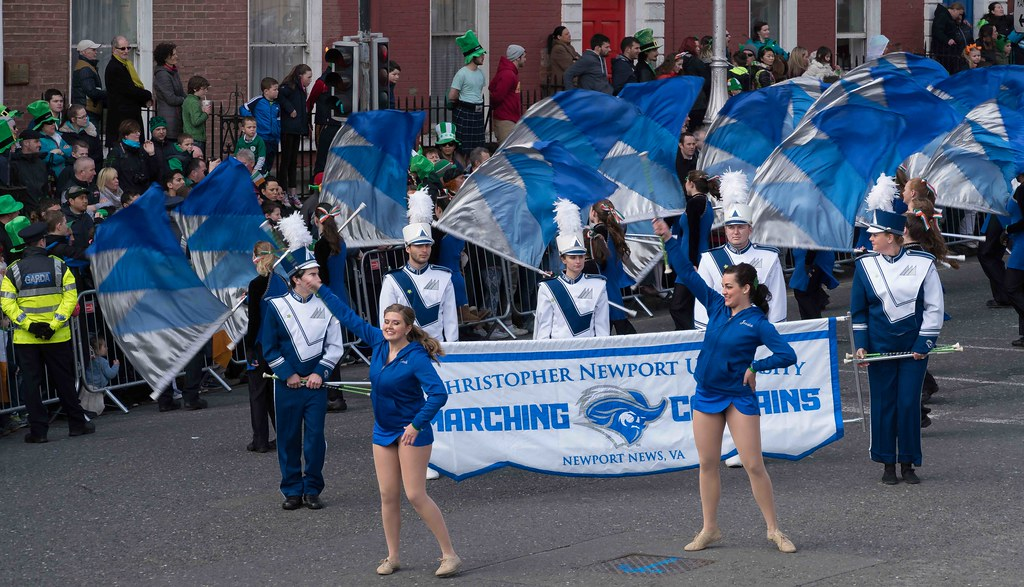Christopher Newport University Marching Captains-112415