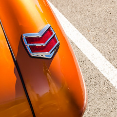 Candy copper (GmanViz) Tags: color detail ford car nikon automobile 1940 fender custom asphalt taillight gmanviz d7000