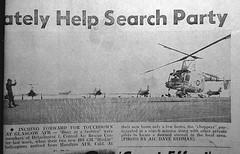 Glasgow Air Force Base (Dave Redman pics) Tags: rescue chopper montana military helicopter airforce usaf 1964 huskie rescuemission hh43b glasgowmontana glasgowairforcebase glasgowafb thehiliner