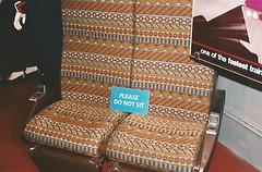 Original Superlier Seats. (trainphotoz) Tags: amtrak superliner amtrak40thanniversary