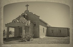 The Catholic Mission Church_BW_ (Kool Cats Photography over 7 Million Views) Tags: newmexico church rural photography framed historic textured missionchurch ef24105mmf4lisusm canon6d