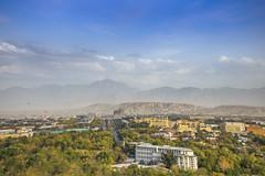 IMG_6434 (Romal Fahim) Tags: blue houses sky mountain afghanistan history asia islam hill tomb ali human mountainside mazar mazaresharif hazrat humanlife