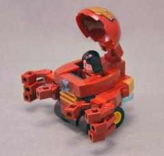 Hulkbuster Armour 02 (IamKritch) Tags: car lego ironman armour tonystark hulkbuster mightymicros
