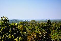 Phnom Bakheng - View of the West Baray from the path up the Bakheng (Simon5591) Tags: khmer angkorwat siemreap phnombakheng