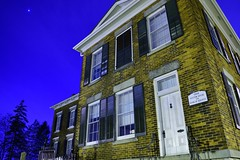 The Custom House and Bank of Toronto (Ted Ruller) Tags: night historic oakville customhouse