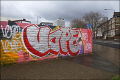 Vape (Alex Ellison) Tags: urban graffiti boobs skatepark graff southlondon vape brixtonbeach