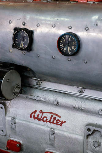 Walter Minor 4-III aircraft engine