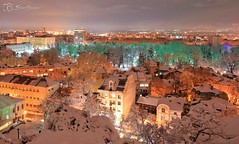 , Plovdiv (StoianStoianov) Tags: city winter snow town bulgaria  plovdiv