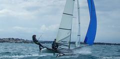 Club Nutic L'Escala-Puerto deportivo Costa Brava-35 (nauticescala) Tags: optimist navegar costabrava regatas regata feva creuer velalleugera velaligera cbsm lser lescalagde