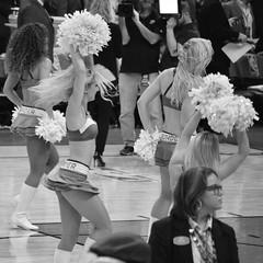 Dancing the game away (radargeek) Tags: basketball pom cheerleaders okc nba oklahomacity okcthunder