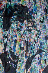 Audrey Hepburn (schubertj73) Tags: portrait woman art ink painting photo mixed media kunst gimp manipulation pop audrey frau glitch hepburn malerei tusche mischtechnik fotomanipulation