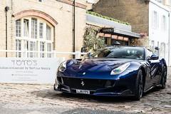 Ferrari F12 TDF [explored] (Callum Bough) Tags: auto blue italy france london cars car de italian nikon tour ferrari d750 supercar lemans supercars f12 v12 tdf
