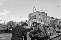 Camden (giazone) Tags: street london blakandwhite town photo punk camden londra