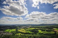 cloudy german landscape (www.carbonat380.de) Tags: blue sky panorama clouds germany landscape interesting nikon himmel wolken sigma landschaft 1020 taunus impressive dx immel 4056 athmospheric knigsstein d7000 nikond7000