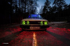 GOLFO GTI (Kiu Photography) Tags: longexposure nightphotography lightpainting colors car night golf colores coche nocturna gti kiu volswagen largaexposicion kiuphotography