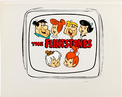The Flintstones Publicity Cel (Hanna-Barbera, c. 1980s) (Space Mutt) Tags: cartoon animation bettyrubble fredflintstone barneyrubble hannabarbera theflintstones wilmaflintstone pebblesflintstone bammbammrubble