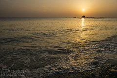 Orange wave (RenField - Toel-ul Laputa) Tags: sunset sea sky sun art nature japan landscape evening sony sigma kagoshima       kyusyu     19mm  akune      6000 ilce6000