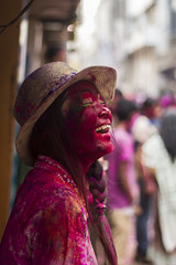 Holi | 2016 | Chennai | sowkarpet (chandru_chandy) Tags: people festival portraits canon streetphotography chennai holi colorsoflife clebrations incredibleindia sowkarpet