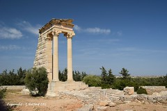 Temple of Apollo, Kourion, Cyprus (Holfo) Tags: history monument architecture temple ancient nikon ruins outdoor columns cyprus column apollo ancientgreece kourion d5300