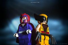 X-trike a pose (squesada70) Tags: toy geek lego xmen minifigs logan marvel wolverine magneto mutants minifigures toyphotography legophotography
