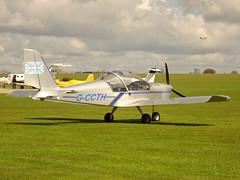 G-CCTH Cosmik Aviation EV-97 TeamEurostar UK cn 2005 Sywell 23Apr16 (kerrydavidtaylor) Tags: eurostar aerotechnik
