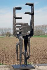 metaal sculptuur Kees Keijzer - Wouw, Noord Brabant, 14 april 2016 (peter.velthoen) Tags: creator steinmetz sculptor metalsculpture beeldhouwer bildhauer metallskulptur ijzersterk metaalsculptuur ceeskeijzer19271990 ceeskeijzerwouw