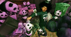 Trash Pandas are Real! (Jinx Ulrik) Tags: trash flow garbage panda afro running dirty sl jinx muddy chores pandas dystopia flite chorelist unorthodox fawny takingoutthetrash sedcondlife secondspaces jinxulrik trashpandas pandasattack